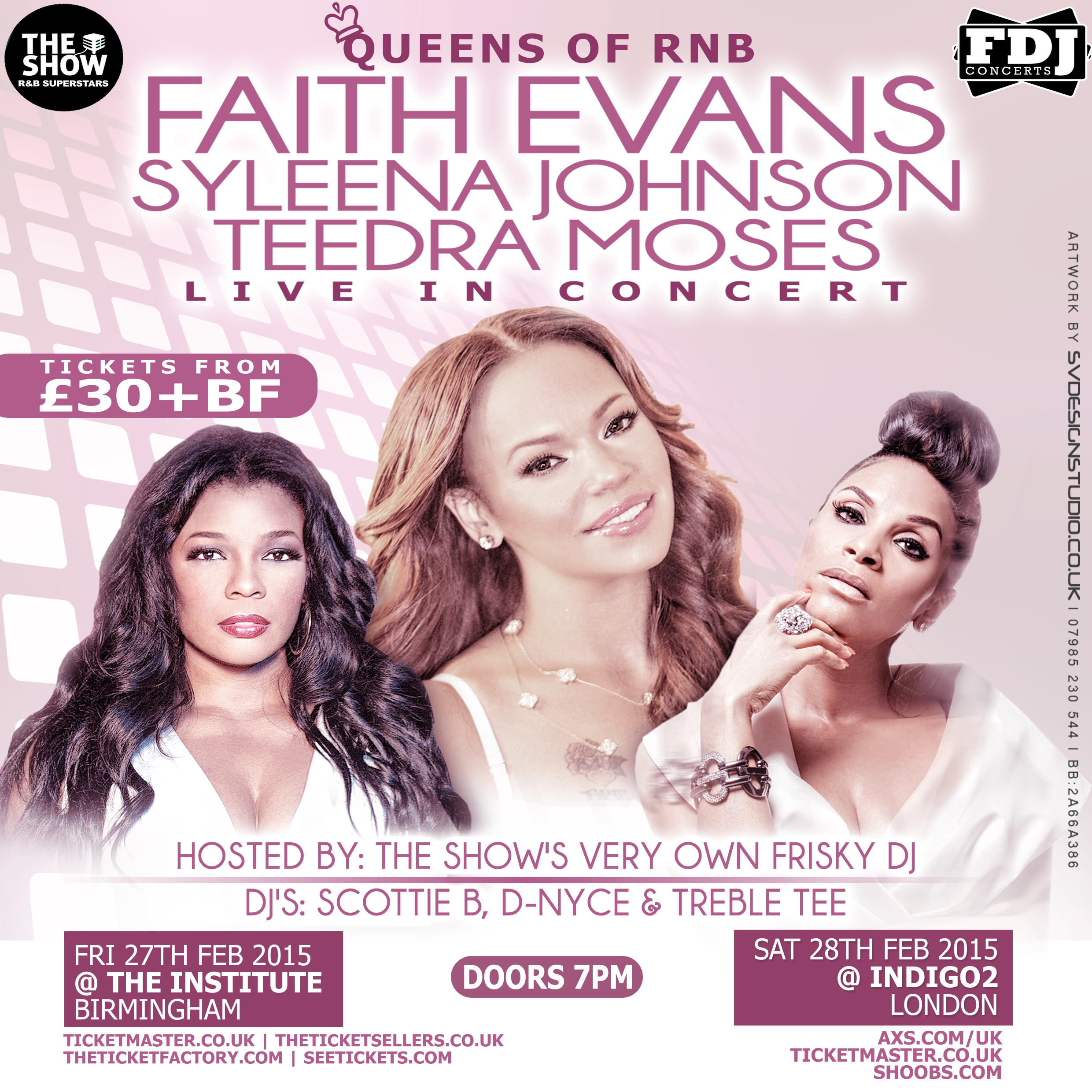 Queens of R&B Birmingham