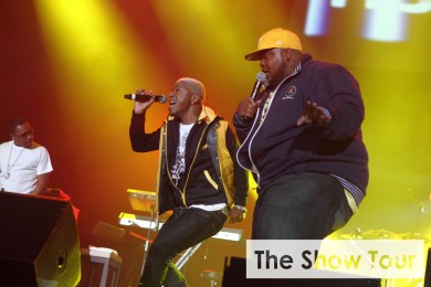 Dru Hill perform live as part of The Show held at Wembley Arena, London on 23rd March 2013.